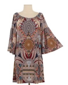 The Bling Box - Feather Print Dress , $38.99 (http://www.theblingboxonline.com/feather-print-dress/)