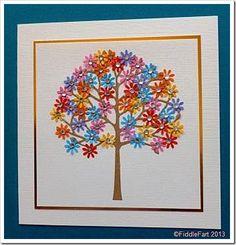 Floral Tree Arboscello Tree Die Memory Box