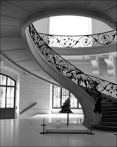 Art nouveau staircase in Petit Palais