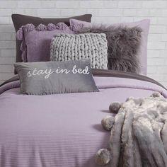 Purple Dorm Rooms, Purple Bedrooms, Dorm Room Themes, Dorm Room Designs, Lilac Bedroom, Silver Bedroom, Bedroom Decor For Teen Girls, Room Ideas Bedroom, Lavender Room