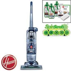 Hoover FloorMate SpinScrub Hard Surface Folding Handle for Easy Assembly & Compact Storage Upright Vacuum Cleaner Review