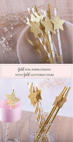 Paper Straws Twinkle Twinkle Little Star Gold Foil Straws Baby Cake Topper, Cake Toppers, Baby Shower Cakes, Baby Boy Shower, Sparkle Baby Shower, Gold Foil Paper, Twinkle Twinkle Little Star, Welcome Baby, Paper Straws