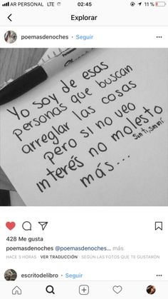 No lo vi. Sarcastic Quotes, Wise Quotes, Words Quotes, Inspirational Quotes, Positive Phrases, Motivational Phrases, Frases Love, Quotes En Espanol, Love Phrases