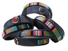 Beaded Leather Wrap Bracelets | Isaro by Jill Golden, Designed in New York, Handmade in Rwanda