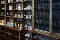 A refined collection of scents and handmade ceramic pieces in an old boutique on rue Saint Honoré, Paris. cool stuff
