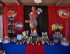 Razan K's Birthday / Avengers Theme - Zaydin's Avengers Bash at Catch My Party Iron Man Theme, Iron Man Party, Iron Man Birthday, Boy Birthday, Birthday Cakes, Birthday Ideas, Birthday Drinks, 9th Birthday Parties, Avengers Birthday