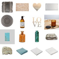 Get the look - Quinn & Ben's Master Bedroom and Ensuite - visit blog.curate.co.nz for links to all the products - The Block NZ