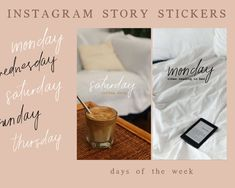 Shop Story, Ig Story, Your Story, Creative Instagram Stories, Instagram Story Ideas, Ig Hack, Days Of Week, Instagram Story Template, Instagram Highlight Icons