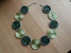 Colliers - Collier Green Lungo - ein Designerstück von Broani bei DaWanda