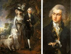 El paseo matinal, 1783, Thomas Gainsborough, Londres, National Gallery