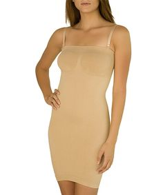 Look at this Figure Improving Technology Nude Convertible Shaper Slip - Women on #zulily today!