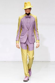 Walter Van Beirendonck ➔ Lust Never Sleep - hey! i want my bf wear like this .....