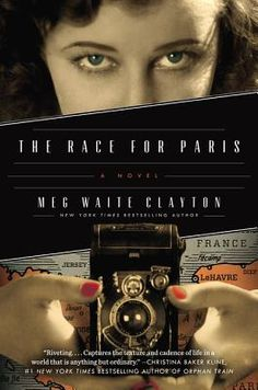 """""""The Race for Paris is an action-packed tale of courage, friendship, and love during the grim, final days of World War II. Clayton's triumphant new novel brings to life the intrepid female journalists who sought to break the limits of the times. Based on real characters and events, The Race for Paris brings a unique perspective to a little-known aspect of history. Gather your book club and prepare for an intense conversation!"""" Pamela Klinger-Horn, Excelsior Bay Books, Excelsior, MN"""
