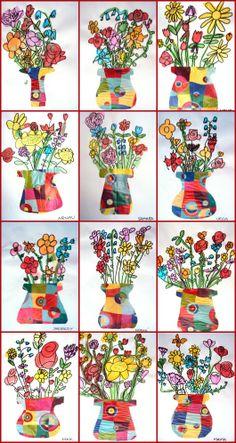 Flowers for 1st grade