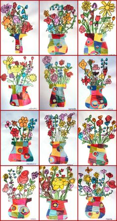 Flowers for 1st grade