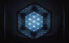 Escultura de luz de Gaspar Battha