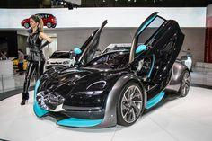 Os protótipos do Salão do Automóvel - Carros - iG
