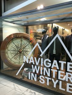 "BARKERS MENSWEAR, Sylvia Park, Auckland, New Zealand ""Navigate  Winter In Style"", (The arm is going round&round), uploaded by Ton van der Veer"