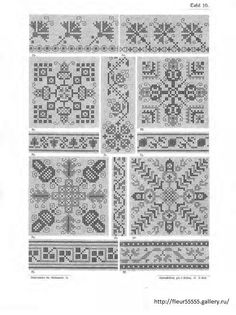 Gallery.ru / Фото #18 - 221 - Fleur55555 Cross Stitch Samplers, Cross Stitch Charts, Different Patterns, Needlework, Kids Rugs, Diy Crafts, Embroidery, Antiques, Gallery
