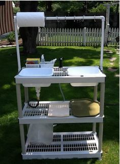 diy camping kitchen
