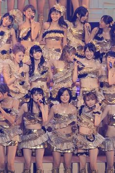 Morning Musume.  Before AKB48, there was MM, aka Momusu