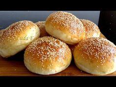 САМЫЕ ВКУСНЫЕ БУЛОЧКИ с КУНЖУТОМ для гамбургеров очень мягкиеHamburger Buns Burger Buns Bánh mì Tròn - YouTube