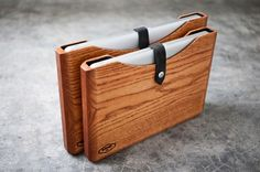 Wooden MacBook and iPad Cases