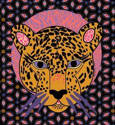 Illustration art by Sasha Ignatiadou Art Inspo, Inspiration Art, Et Wallpaper, Artist Pencils, Art Et Illustration, Arte Popular, Grafik Design, Art Design, Jaguar