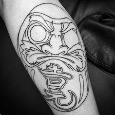 Outline sitting #daruma . From today #305 #boldwillhold #blxckink #blackwork #blackworkers #blacktattoos #blacktattooart #btattooing #tatsoul #tattoos #tattedup #tattooing #tattoosnob #m4l #miami #style #fashion #southbeach #wynwood #editorialphotography #kawaii #afterinked #inkedmag #taot #wmc2016 by rabbits999