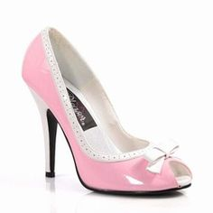 Swing Dance Shoes with Bow-Pink $59.95