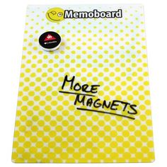 Personalised A4 Magnetic Dry Wipe Boards, a magnet and message board all in one.