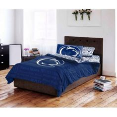 Ncaa Penn State University Nittany Lions Bed in a Bag Complete Bedding Set, Multicolor