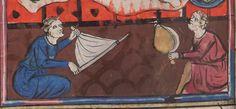 Vies de S. Denys et de S. Eustache.  Date d'édition :  1301-1400  Français 13502  Folio 32v