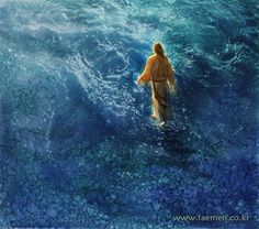 """spiritually powerful art """"This art work by Yongsung Kim is remarkable! I can see his faith transmitted onto canvas through his delicate brush strokes and selective views of Christ and His life amon. Lds Art, Bible Art, Jesus E Maria, Pictures Of Christ, Cross Pictures, Art Pictures, Padre Celestial, Christian Artwork, Christian Quotes"""