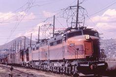 Milwaukee Road GE Little Joe Locomotive E21 Dupe Slide MILW   eBay