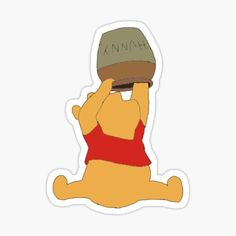 Disney Drawings, Art Drawings, Disney Patches, Movie Wallpapers, Pooh Bear, Cute Stickers, Sticker Design, Disney Characters, Troll