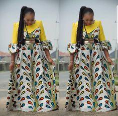 Modern Ankara Styles Latest African Fashion Clothing For Women. New Ankara Designs for modern day fashion. African modern ankara styles clothing stand out Best African Dresses, Latest African Fashion Dresses, African Print Dresses, African Print Fashion, Africa Fashion, African Attire, Ankara Fashion, Tribal Fashion, African Prints