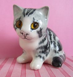 Winstanley Kitten Cat by Mike Hinton by TheCraftyCurioShop on Etsy