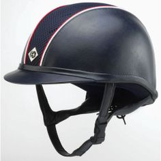 Charles Owen AYR8 Leather-Look Helmet with Custom Piping** | Dover Saddlery $489