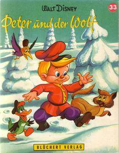 Walt Disney / Peter und der Wolf  1962