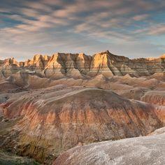Bandlands National Park, South Dakota. Photo by Carl Johnson.