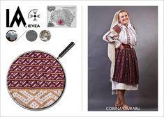 Romanian shirt hand-made by Corina Ciuraru for the Ia Aievea project. *** Camasa cusuta de Corina Ciuraru pentru proiectul Ia Aievea dupa un izvod de la Muzeul National al Taranului Roman. Roman