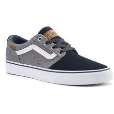 Vans Chapman Stripe Men's Suede Skate Shoes ($55) ❤ liked on Polyvore featuring men's fashion, men's shoes, men's sneakers, black, mens suede lace up shoes, mens black sneakers, mens leopard print sneakers, mens shoes and mens leopard print shoes