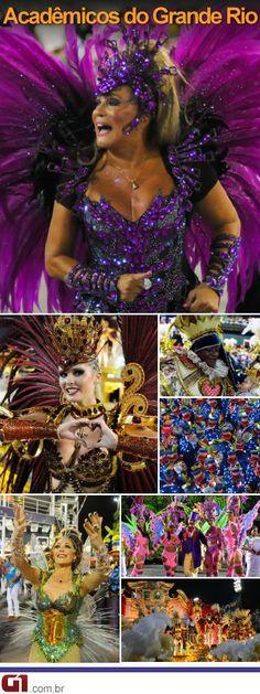 Escola de Samba Acadêmicos do Grande Rio - Carnaval 2014 - Rio de Janeiro
