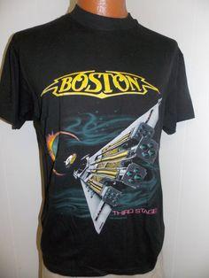 Vintage Boston 1987 Third Stage Concert by PfantasticPfindsToo