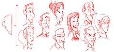 variations using the same head shape.
