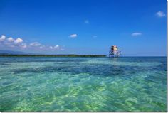 """The Crow's Nest in Jamaica. Sand """"BAR"""" 1 mile offshore"""