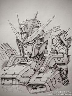 GUNDAM GUY: Awesome Gundam Sketches by VickiDrawing [Updated 1/20/15]