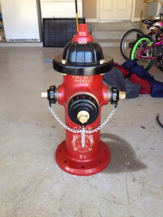 My sister's hydrant. NuHydrant