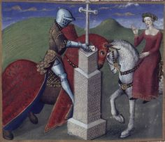 Lancelot du Lac  Paris, France  1400 - 1425